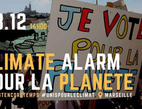 Marche pour le climat à Concarneau
