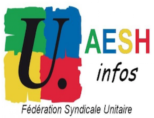 AESH : MOBILISATION NATIONALE le mercredi 15 mai