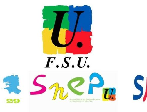 Déclaration liminaire de la FSU et compte-rendu du CTSD du 28 janvier 2021