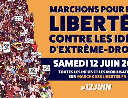 Marche des libertés 12 juin 2021